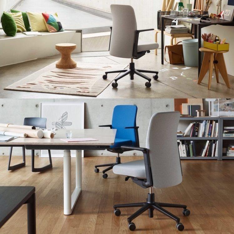 Distintos tapizados para la silla Pacific