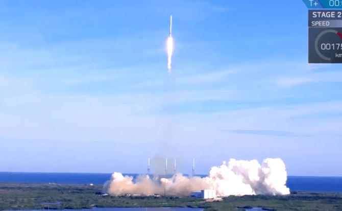 La NASA utiliza por primera vez un cohete reutilizado de SpaceX