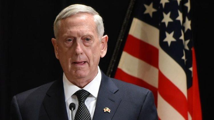 El secretario de Defensa de los Estados Unidos, James Mattis