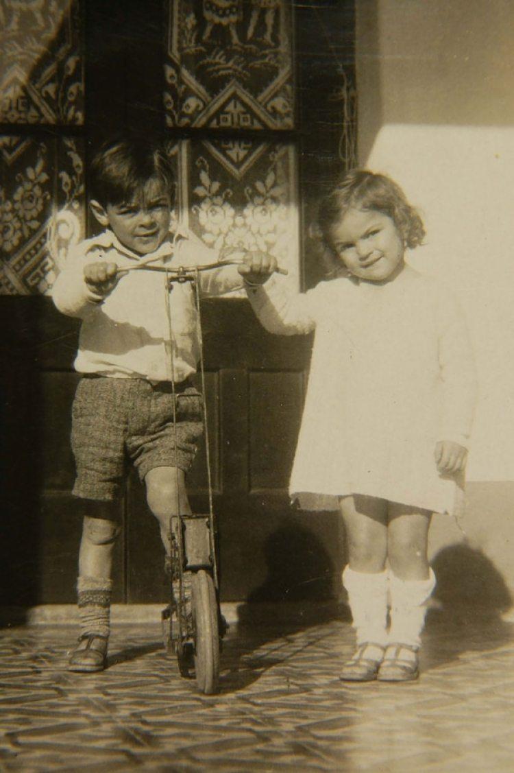 Celia y Ernesto Guevara. Él era un año y medio mayor que ella.
