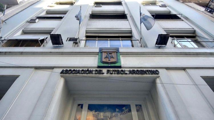 Sede de la AFA, en Buenos Aires