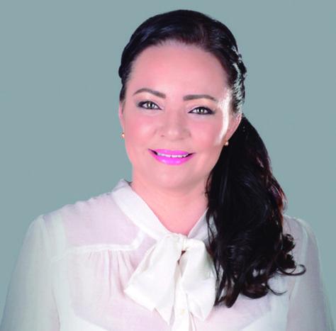 La candidata electa para el TSJ por el Beni, María Montenegro.