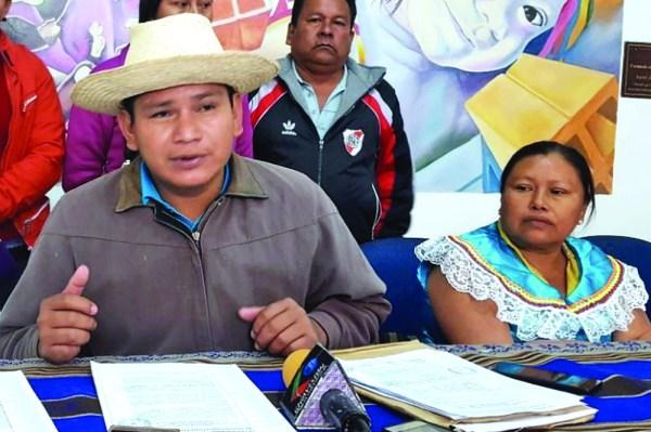 En San Ramoncito nace núcleo de la resistencia por el TIPNIS