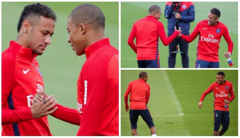Resultado de imagen para mbappe y neymar