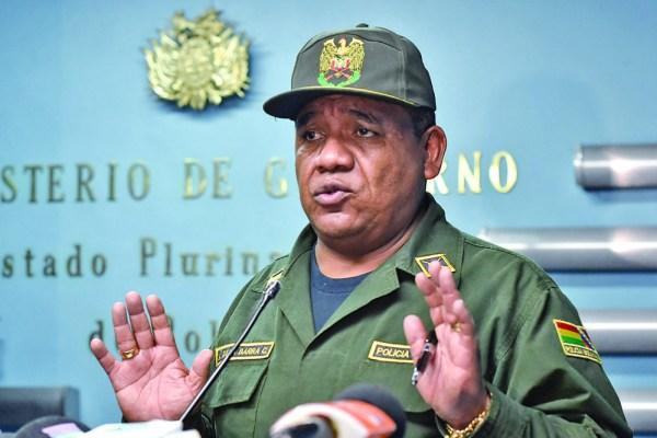 Fiscalía policial revisa conducta del comandante para procesarlo