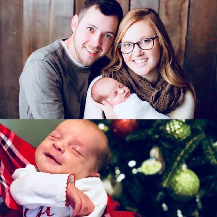 """Tina y Benjamin pasarán su primera Navidad junto a Emma, la """"bebé milagro"""""""