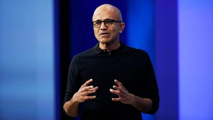Satya Nadella, director ejecutivo de Microsoft (Stephen Lam/Getty Images)