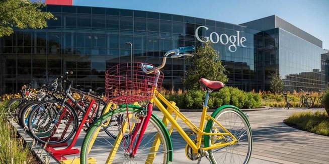 Sede de Google en Mountain View, en pleno Silicon Valley (California).