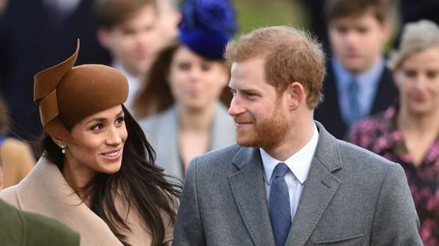 La actriz de Suits pasa su primera navidad con la familia real