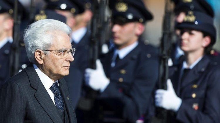 El presidente italiano, Sergio Mattarella, fue el encargado de disolver el Parlamento (EFE/Angelo Carconi)