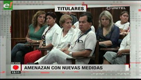 Video titulares de noticias de TV – Bolivia, mediodía del viernes 8 de diciembre de 2017
