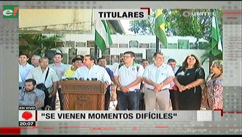 Video titulares de noticias de TV – Bolivia, noche del viernes 1 de diciembre de 2017