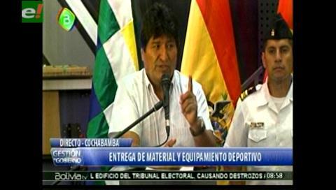 Evo revela que agentes de China y Cuba le dieron seguridad cuando era dirigente y diputado