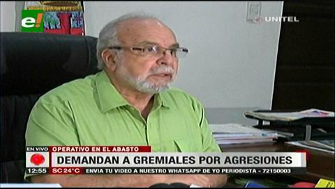 La Alcaldía cruceña presentó una demanda por agresión contra los gremiales del Abasto