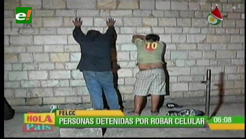 Santa Cruz: Detienen a dos presuntos atracadores