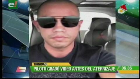 Caída de avioneta: Piloto grabó video antes de su aterrizaje