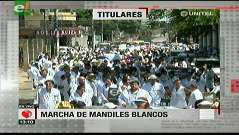 Video titulares de noticias de TV – Bolivia, mediodía del jueves 7 de diciembre de 2017