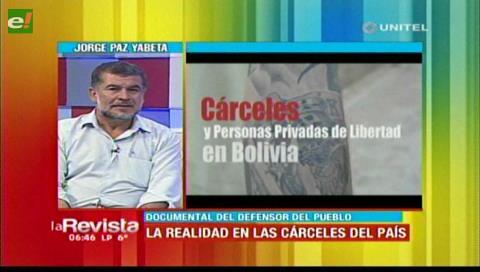 Defensoría del Pueblo mostrará la realidad que se vive en cárceles del país