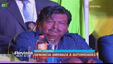 Concejal Cahuana denuncia amenazas contra Percy Fernández y Ángelica Sosa