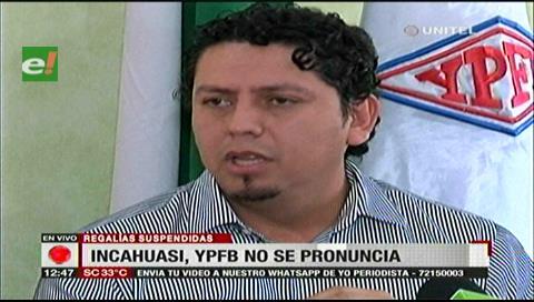YPFB afirma que no fueron notificados sobre la sentencia del campo Incahuasi