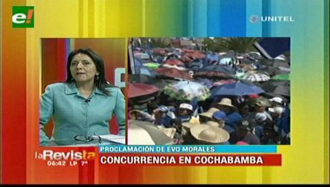 Ministra López ve una derecha sin propuestas y con intención de dar un golpe de Estado