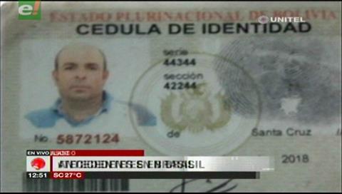 Brasileño baleado en San Ignacio tendría antecedentes en su país por narcotráfico