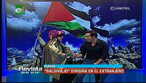 """Humor: """"Baldiviejo"""" ya está ambientado para dirigir a la selección de Palestina"""