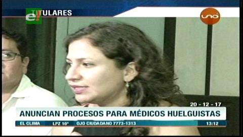 Video titulares de noticias de TV – Bolivia, mediodía del miércoles 20 de diciembre de 2017