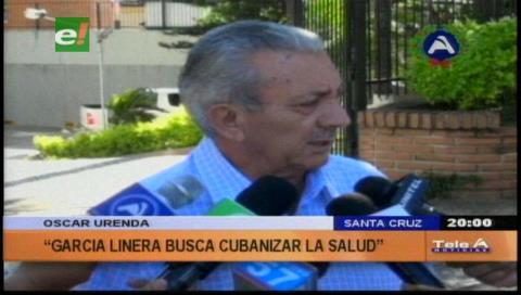 Urenda: «El Gobierno pretende cubanizar la medicina»