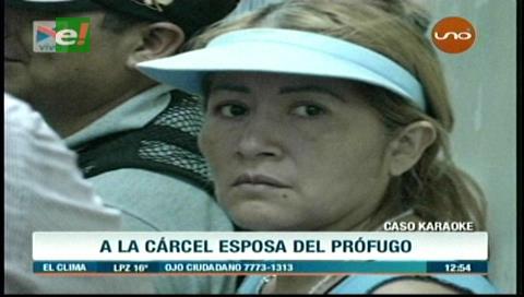 Envían a la cárcel a esposa de peruano que mató a joven fuera de una discoteca