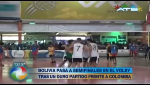 Bolivia pasa a las semifinales en vóley en los Juegos Sudamericanos Escolares