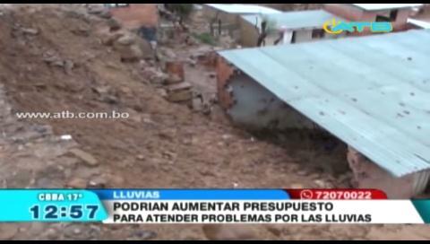 Alcaldía de Cochabamba desplegó 4 cuadrillas de emergencias por intensas lluvias