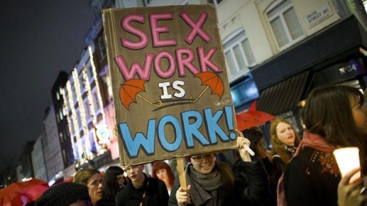 """""""El trabajo sexual es trabajo"""" (AFP)"""