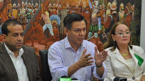 La dirigencia cívica cruceña se pronuncia sobre dicho del gobernador Iván Canelas. Foto:Aldo Aguilera