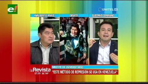 Diputado Serrano asegura que el método de represión con canicas se usa en Venezuela