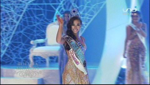 Miss Bolivia Mundo 2018 es Vanessa Vargas Gonzáles