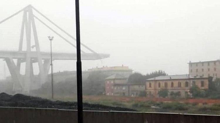 El viaducto transcurre sobre una zona urbana