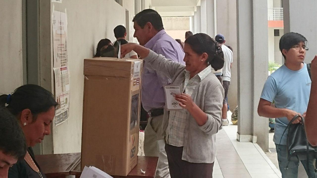 TED ultima detalles para el referendum por la Carta Orgánica en Yacuiba