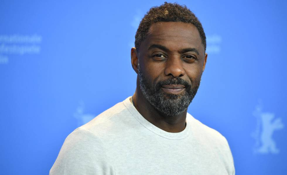 El actor Idris Elba, en el Festival Internacional de Cine de Berlín, en febrero.
