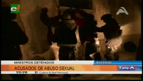Investigan a profesores por supuesto abuso en Potosí