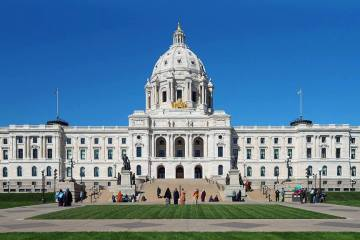 MN Capitol steps