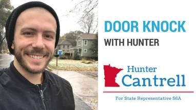 Saturday Door Knock with Hunter