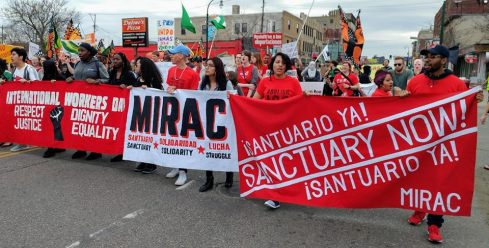 May 1 March in Minneapolis | Marcha 1 de mayo en Minneapolis
