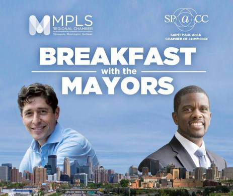 Breakfast with the Mayors @ University of St. Thomas