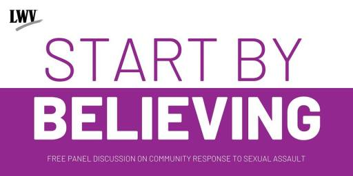 Start By Believing: Panel on Response to Sexual Assault @ SPNN