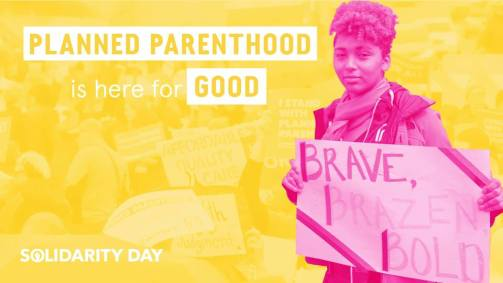 Solidarity Day 2019 @ Planned Parenthood: St. Paul Health Center - Vandalia