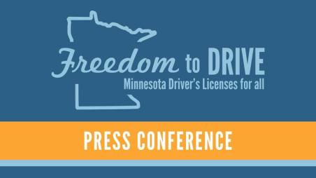 Freedom to Drive! MN Driver's licenses for all! @ Minnesota State Capitol