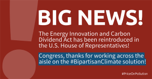 H. R. 763, Energy Innovation and Carbon Dividend Act of 2019.