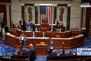 Rep. Craig presiding over the U.S. House of Representaitives.