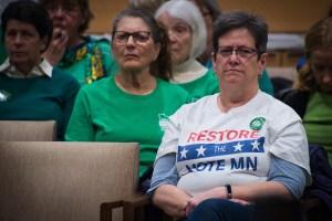 Restore the Vote MN t-shirt